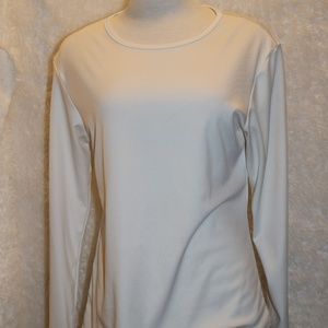 Cuddle Duds Ladies  thin longsleeve size Large
